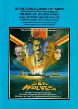 THE SEA WOLVES 1980 FILM PREMIERE PROGRAMME SIGNED