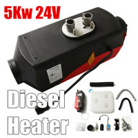 24V 5000W Air Diesel Heater 5KW PLANAR Fit for Car Truck Boat Bus Remote