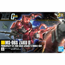 GUNDAM - MS-06S Zaku II Char HG High Grade Model Kit 1/144 - 40th Anniversary