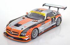 1:18 Minichamps Mercedes SLS AMG GT3 #1, Winner Dubai 2013
