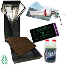 Seeding Propagation Tray 0.6M Grow Tent Dual Spectrum CFL Wing Reflector HeatMat