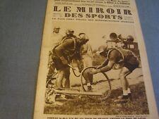 LE MIROIR DES SPORTS-Le  22ème Tour de France Cycliste 1928-1 lot de  9 journaux