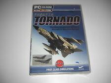 PANAVIA TORNADO Pc Cd Rom Add-On Flight Simulator Sim 2004 & X FS2004 FSX FS NEW