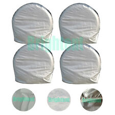 Set of 4 Heavy Duty Car Tire Cover For RV Truck Trailer Camper Motorhome GTC3Hx2