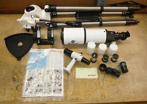 SUPER CLEAN GSKYER AZ80400 Astronomical Telescope 80mm X 400mm LIGHT USE nd/s