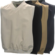 Dry Creek by Baru Men's V-Neck Golf Pullover Wind Vest NEW