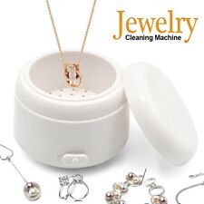 Ultrasonic Jewelry Cleaner Denture Glass Watch Ring Bath Tank Cleaning Machine