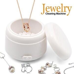Ultrasonic Jewelry Cleaner Denture Glass Watch Ring Bath Tank Cleaning Machine