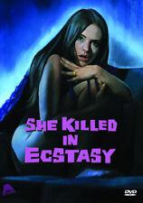She Killed in Ecstasy DVD (2015) Soledad Miranda, Franco (DIR) cert 18