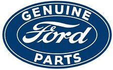 Genuine Ford Parts Sign Oval Cabin Lodge Man Cave Garage Shop Decor New 22 x 32