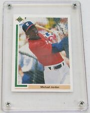Michael Jordan 1991 Upper Deck White Sox Baseball Card