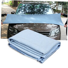 New High Quality Car Drying Towel Blue Waffle Weave Microfibre 60 x 80cm CN