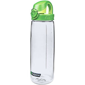 Nalgene Tritan On the Fly Water Bottle - 24 oz.- Clear/Sprout Green