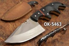 "8.4"" KMA CUSTOM MADE D2 STEEL FULL TANG COMBAT BLADE TACTICAL SKINNER KNIFE 5463"