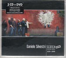 DANIELE SILVESTRI S.C.O.T.C.H. SCOTCH - 2 CD + DVD SIGILLATO!!!