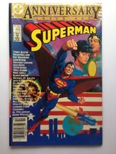 Superman # 400 Anniversary Issue DC Comics 1984 Ray Bradbury Frank Miller