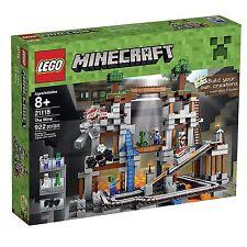 LEGO - The Mine - Minecraft 21118 - Brand New & Sealed - Ready to Ship