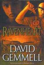DAVID GEMMELL RAVENHEART BOOK 3 RIGANTE SAGA HARDCOVER 2001 1ST US EDITION RARE