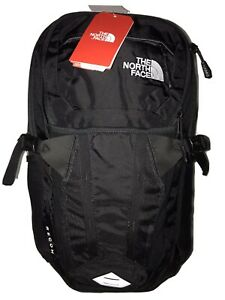 New The North Face Recon Backpack Contoured Padded Back Frame Black MSRP $99.00