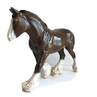 Artist Resin Model Horse Draft Horse Stamped Stamped Characte Collective 1991