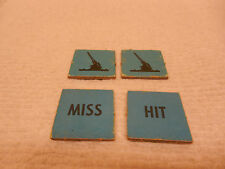 DOGFIGHT GAME PIECES BLUE SQUARE ANTI-AIR TOKENS  (American Heritage) MB