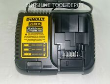 New DeWalt Dcb115 12V Max 20V Max Lithium Ion Battery Charger Replaces Dcb101