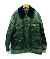 Michigan DNR Vintage Jacket Quilted Liner 3 Zippers Hook Loop & Button Sz 50