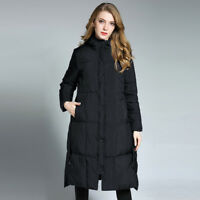 Winter plus size womens thickening hooded down coat Down cotton-padded jacket uk