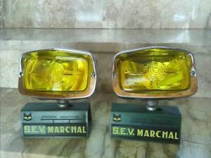 SEV MARCHAL IODE 658 PAIR FOG LIGHTS FERRARI MASERATI PORSCHE MERCEDES MUSTANG