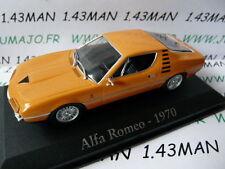 voiture 1/43 RBA Italie IXO : ALFA ROMEO Montréal 1970