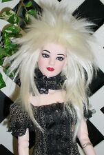 "Doll Wig, Monique Gold ""Starr"" Size 7/8  - White Blonde"