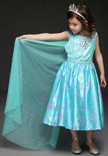Frozen Elsa Dress Up - Sleeveless Summer dress with long cape