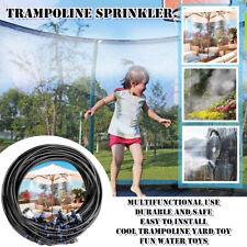 Outdoor Water Game Sprinkler For Kid Summer Cool Funny Trampoline Sprinkler Game