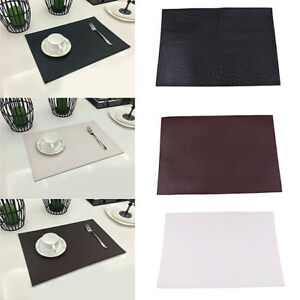 Fashion Placemat Table Desk Mat Heat Insulation Anti-skidding Kitchen Dining BS