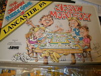 1990 Jigsaw Puzzle game of Lancastser PA Jigsaw Monopoly 1990 COMPLETE
