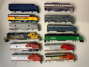 C403- Mixed Lot Of HO Scale Locomotive Shells
