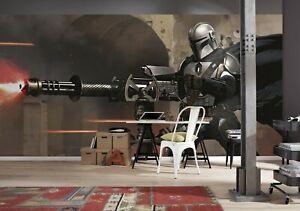 500x280cm Giant mural wallpaper feature wallcovering Star Wars Mandalorian
