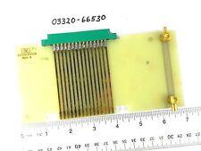 Agilent HP Keysight 03320-66530 30 Pin Extension Board