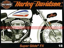 HARLEY DAVIDSON FX 1200 Super Glide 1971 Open Road Tour Century AMF absorbe HD