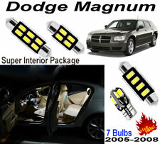 7pcs Super White LED Interior Dome Light Kit For Dodge Magnum 2005-2008 Lamps