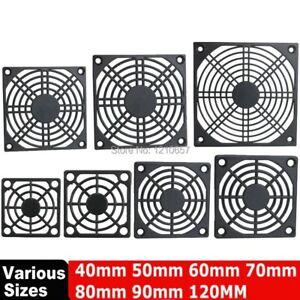 10pcs Fan Dust Filter Mesh For 40mm 50mm 60mm 70mm 80mm 90mm 120mm Cooler Cover