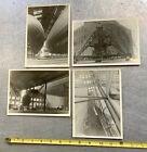 lot+of+4+photographs+USN+US+NAVY+BLIMP+dirigible+hangar+Aerostats+airships