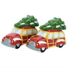Boston Warehouse  Woody Auto and Tree Salt and Pepper Shakers