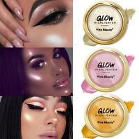 Shimmer Highlighter Powder Palette Face Contour Illuminator Makeup Highlight-