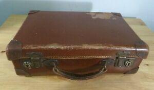Tiny Vintage Suitcase 1940s 1950s Paddington Bear Case