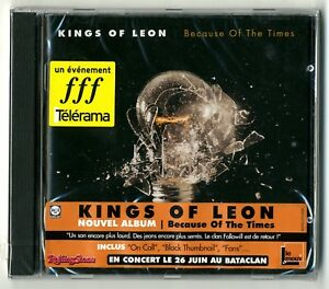 CD / KINGS OF LEON - BECAUSE OF THE TIMES / NEUF SOUS CELLO