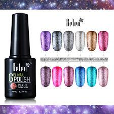 Belen Vernis à Ongles Platine UV Nail Art Gel Polish Soakoff Brillant 10ml Neuf