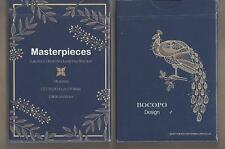 1 DECK Masterpieces playing cards by BOCOPO FREE USA SHIPPING