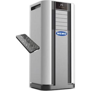 Mobile Klimaanlage 9000 BTU 4in1 Kühlen Heizen Luftentfeuchter Ventilator 2,6kW