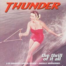THUNDER - THE THRILL OF IT ALL 2 CD NEU